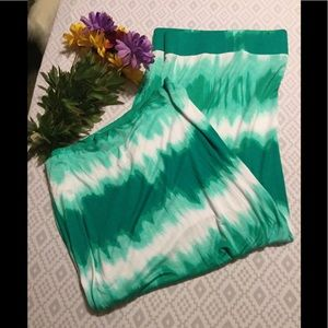 Plus Size Tye Dye Maxi Skirt